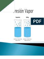 Presion-Vapor
