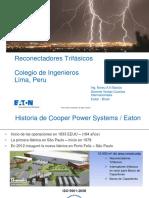 Reconectadores Trifasicos Julio 2017 PDF