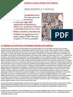 Colapso Del Mundo Medieval
