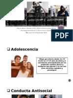 Adolescencia y Conducta Antisocial