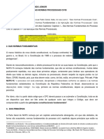 Das Normas Processuais Civis