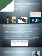 Tema 6 Cálculo y Selección de Componentes de Una Transmisión Hidrostática