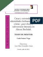 Crear y Reevindicar Identidades Lesbianas, Alison Bechdel