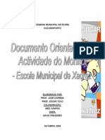 Documento Orientador Xadrez