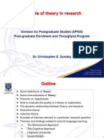 The role of theory in research.pdf
