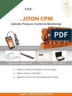 TRITON CPM Cylinder Pressure Monitoring e