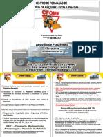 Apostila PDF Plataforma Elevatória