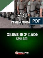 Simulado PMGO Soldado FUNRIO