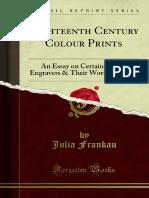 Eighteenth Century Colour Prints