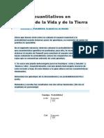 Modelos Cuantitativos en Ciencias de La Vida y de La Tierra_Actividad 3. Probabilidad. Segunda Ley de Mendel