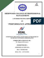 projectreportonperformanceappraisalofbsnl-140219091723-phpapp01
