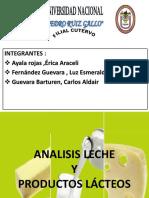 LACTEOS Y ANALISIS