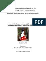 Seres de Sonhos - Dissertacao Daniel Alves (CEBB)