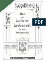Lindenwirtin Programmheft A5
