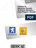 Peugeot e Renault Direcao