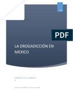 La drogadiccion en Mexico