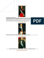 Presidentes Del Ecuador HISTORIA