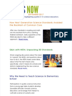 September 2017 NGSS NOW