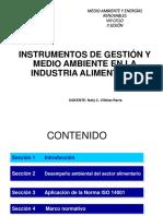 Instrumentos de Gestión y Medio Ambiente en La Industria Alimentaria