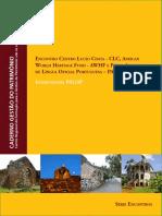 CADERNO-Gestao Do Patrimonio IntervencoesPALOP