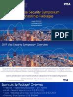 2017 Symposium Sponsorship Packages - FINAL - 2017 06 06