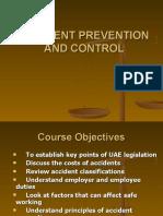 Accident Prevention & Control