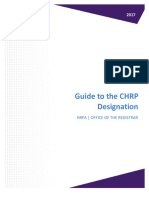 Guide to CHRP