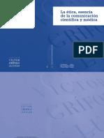 La ética, esencia de la comunicación científica y médica