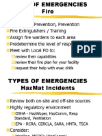 Types of Emergencies