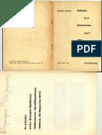 Günter Grass, Λόγος Εναντίον Της Συνήθειας