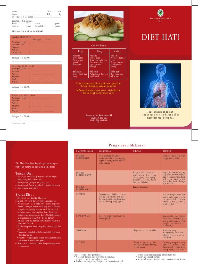 Brosur Diet Hati Pdf