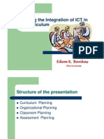 Planning ICT Integration in Educational system