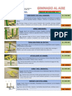 Catalogo Gimnasio Biosaludable