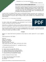 Retenções Da Csll, Pis e Cofins Sobre Serviços