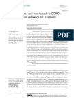 Oxidative Stress and Free Radicals in COPD