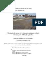 Valorização de Lamas de Tratamento de Águas Residuais Urbanas Para Utilização Agrícola
