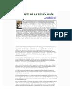 EL DESAFIo DE LA TECNOLOGiA.doc
