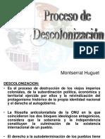 PROCESO DE DESCOLONIZACIÓN