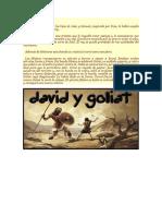 Davi y Goliat
