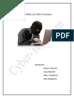 Case Study on Cyber