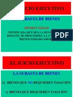 (8B) EL JUICIO EJECUTIVO. CUADERNO DE APREMIO.  SUBASTA DE BIENES..ppt
