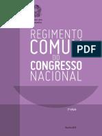 Regimento Comum - Congresso