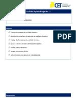 Guía de Aprendizaje Unidad 2