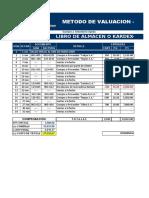 Copia de Metodos de Valuación PEPS UEPS Y PROMEDIO