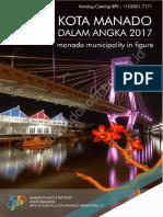 Kota Manado Dalam Angka 2017