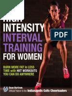 DK - High Intensity Interval Training for Women 2015