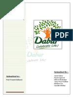 Dabur Report