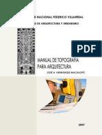 Jose Hernandez Macalopu - Manual de Topografia