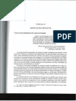 Lenguas en contacto capítulo 14 Principios de sociolinguistica y sociologia del lenguaje