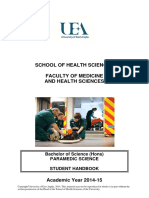 Paramedic Handbook 2014 15